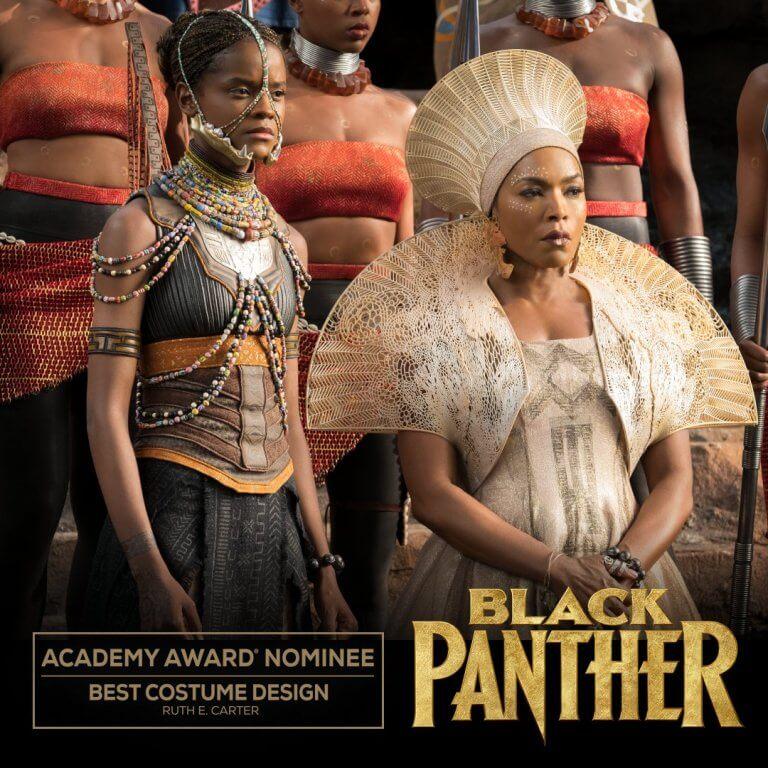 獲 2019 年奧斯卡金像獎「最佳服裝設計」入圍的《黑豹》。