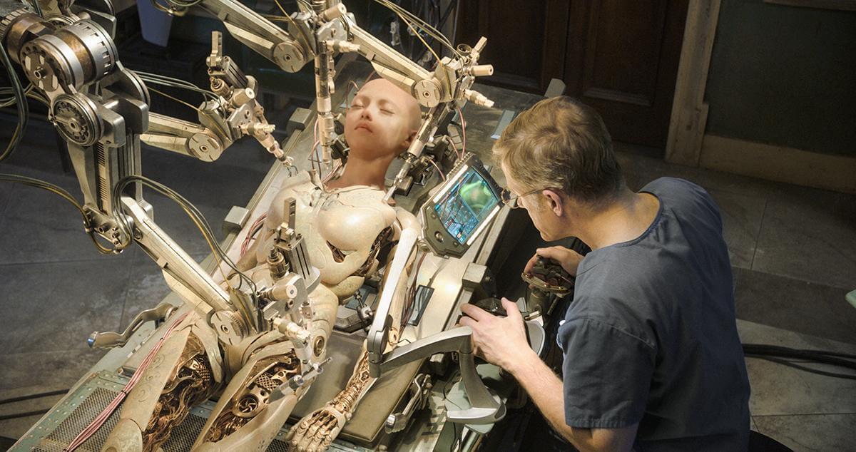 日漫改編的好萊塢特效科幻片《艾莉塔:戰鬥天使》畫面。