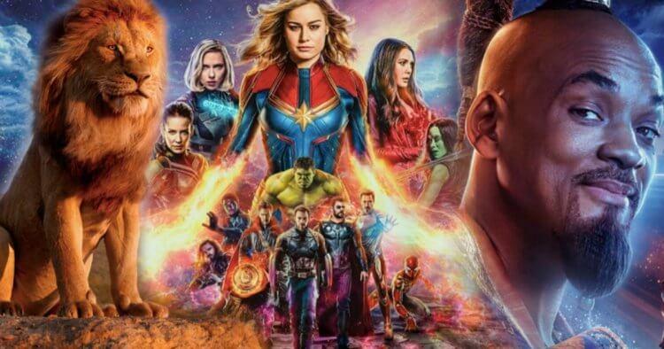 迪士尼旗下的《驚奇隊長》、《復仇者聯盟 4:終局之戰》、《阿拉丁》、《玩具總動員 4》以及《獅子王》票房接連告捷,突破 10 億美金的里程碑。
