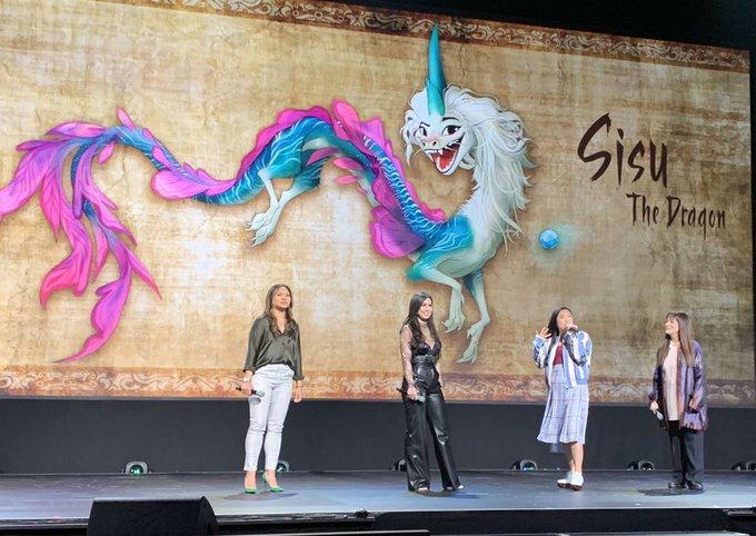 2019 年 D23 EXPO 發表會上迪士尼正式公開《Raya and the Last Dragon》動畫電影訊息。