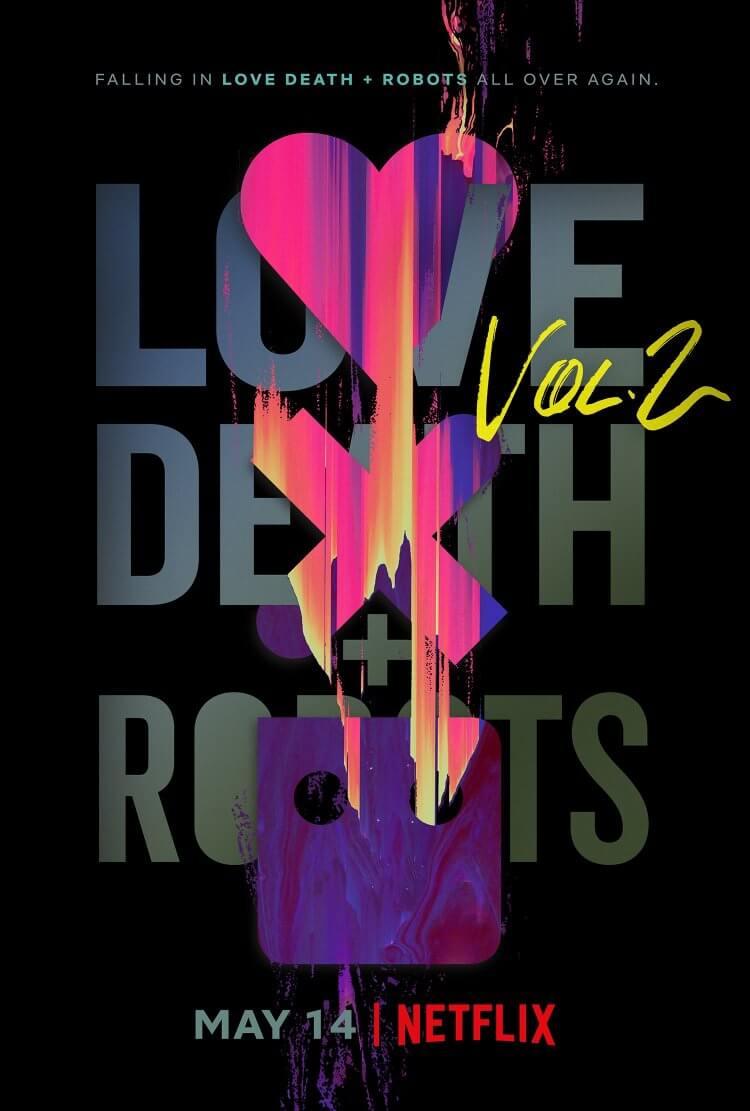 Netflix 釋出《愛 x 死 x 機器人》第二輯海報。