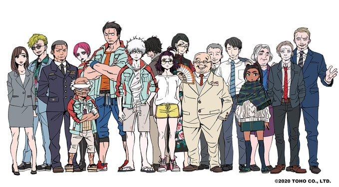 《哥吉拉:奇異點》動畫影集人物設定由《青之驅魔師》加藤和惠負責。