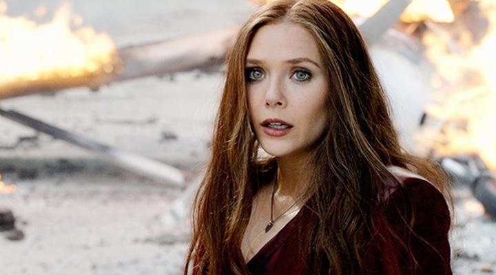伊莉莎白歐森 的 緋紅女巫 造型。