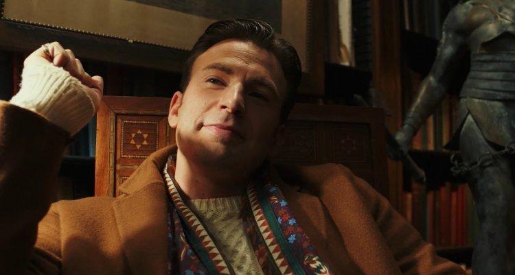 雷恩強森執導的《鋒迴路轉》中,「美國隊長」克里斯伊凡以以往不同的形象演出。