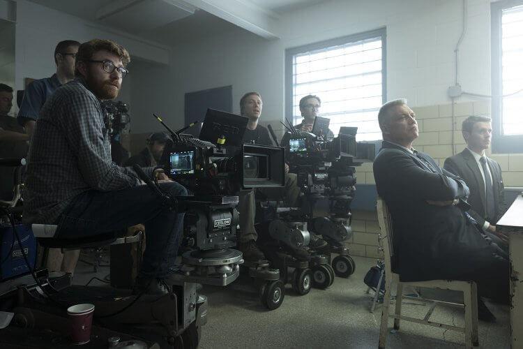 《破案神探》攝影指導艾瑞克梅賽舒密特。