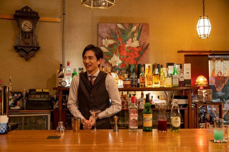 《西荻窪 三星洋酒堂》拍攝花絮。