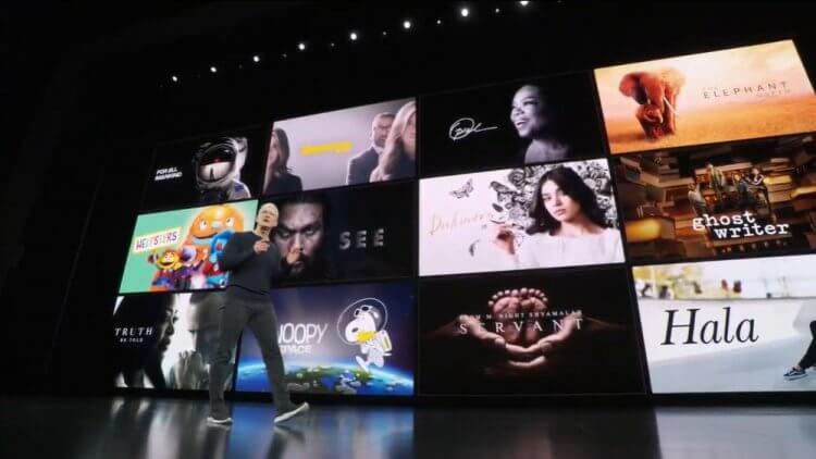 Apple TV+ 有眾多影集將上線