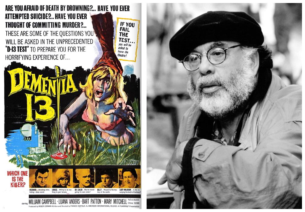 【專題】名導恐怖初體驗:《教父》導演法蘭西斯柯波拉的「驚魂記」《Dementia 13》(上)首圖