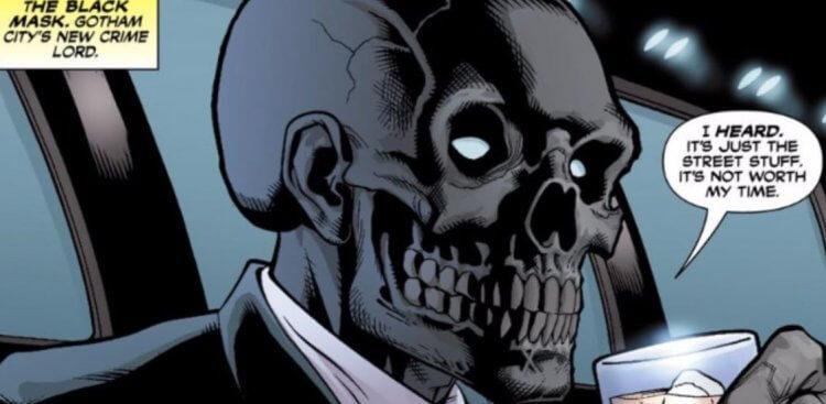 出現在 DC 蝙蝠俠漫畫裡的黑面具。
