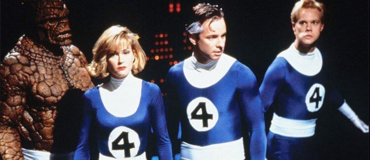 1994 年,羅傑科曼 (Roger Corman) 的驚奇4超人。