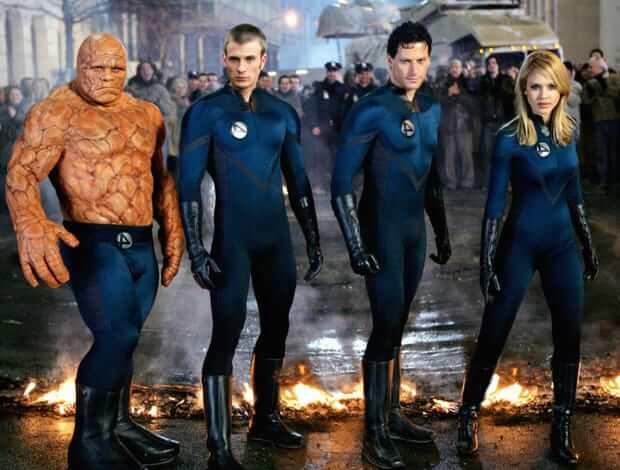 2005年版《驚奇四超人》電影 ,當時《美國隊長》克里斯伊凡也有參與演出