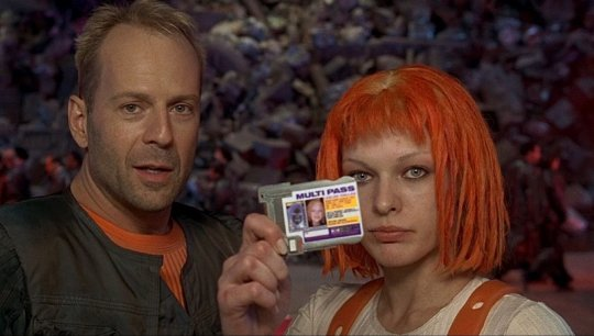 《第五元素》(The Fifth Element) 劇照。