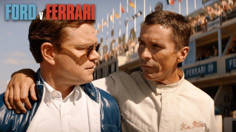 克里斯汀貝爾與麥特戴蒙《賽道狂人》外媒評價「作品一如賽車本身爆發力十足!」奧斯卡大熱門電影重現福特賽車傳奇