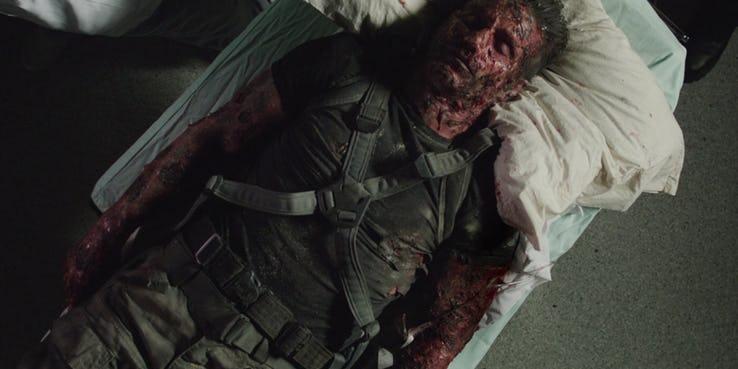 《美國隊長3》中因十字骨引發的自爆攻擊,使得許多民眾陷入生死危難。