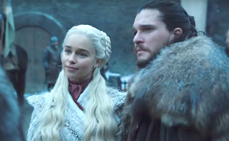 HBO 熱門美劇《冰與火之歌:權力遊戲》最終季劇照。