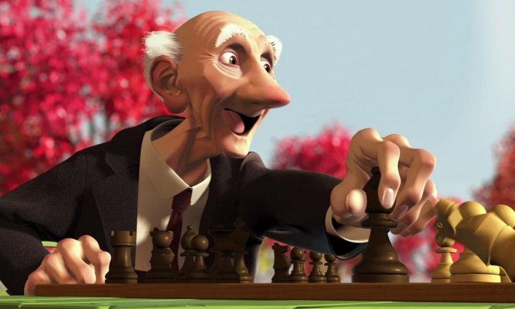 皮克斯短片《棋局》。