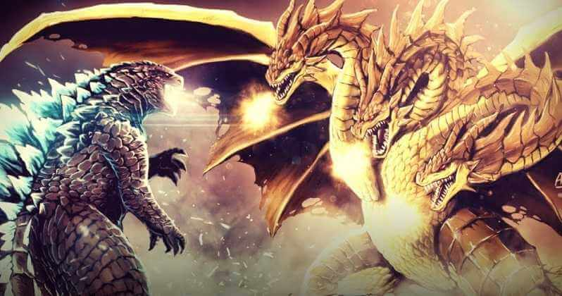 哥吉拉及王者基多拉是日本東寶經典特攝片的怪獸明星,這次即將在好萊塢版《哥吉拉 2:怪獸之王》中再度對決。