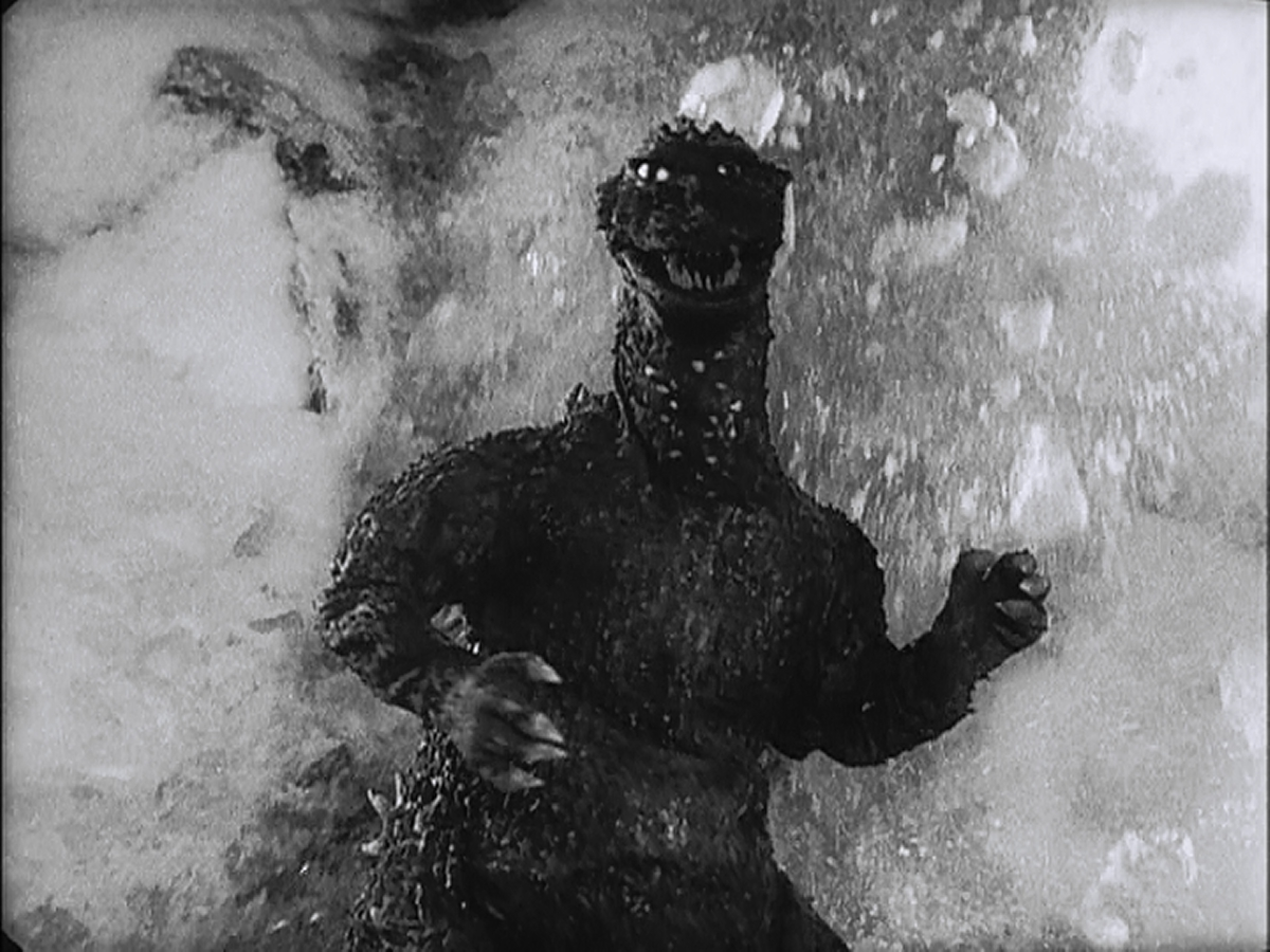《 哥吉拉的逆襲 》 劇照 。