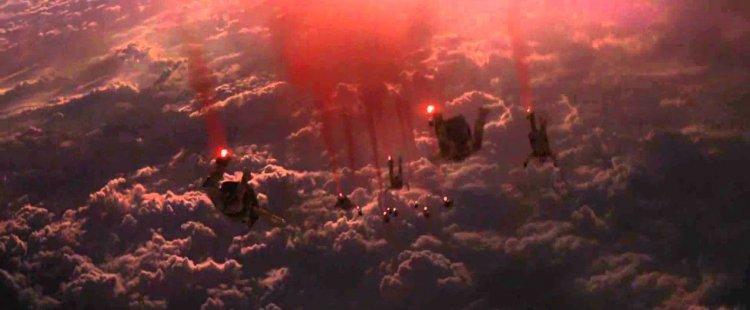 傳奇影業的怪獸電影《哥吉拉》(Godzilla) 於 2013 年推出的前導宣傳影片,可感受到濃濃不祥預兆。