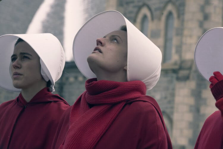 HBO 影集《使女的故事》第四季伊莉莎白摩斯。