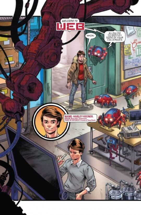 漫畫《W.E.B. of Spider-Man》。