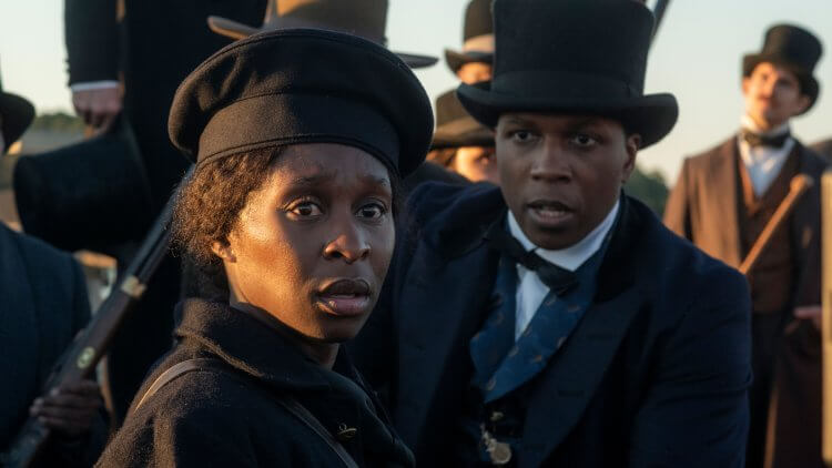 《哈莉特:廢奴之戰》電影劇照。