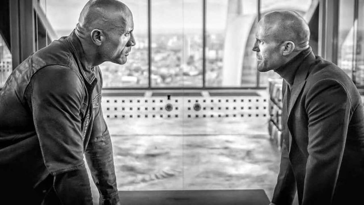 巨石強森&傑森史塔森「眼神對決」! 玩命關頭外傳《哈柏與蕭》首張劇照曝光