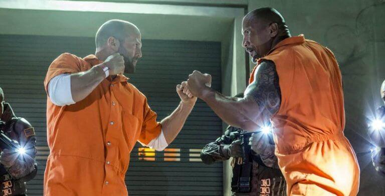 《哈柏與蕭》中,巨石強森與傑森史塔森所飾演的經典角色將結為搭檔。