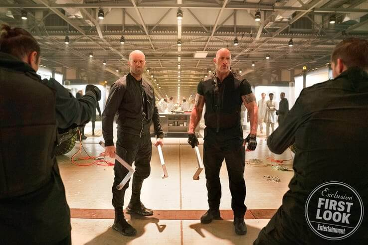 玩命關頭外傳電影《哈柏與蕭》最新劇照造型公開。