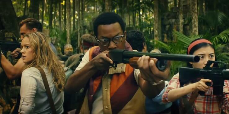 2017 年《金剛:骷髏島》電影中的休士頓布魯克斯(柯瑞霍金斯 飾)。