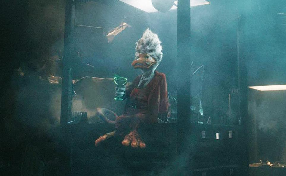 無限之戰 存活者 : 天將神兵 星際異攻隊 裡出現的 霍華鴨 (Howard the Duck)