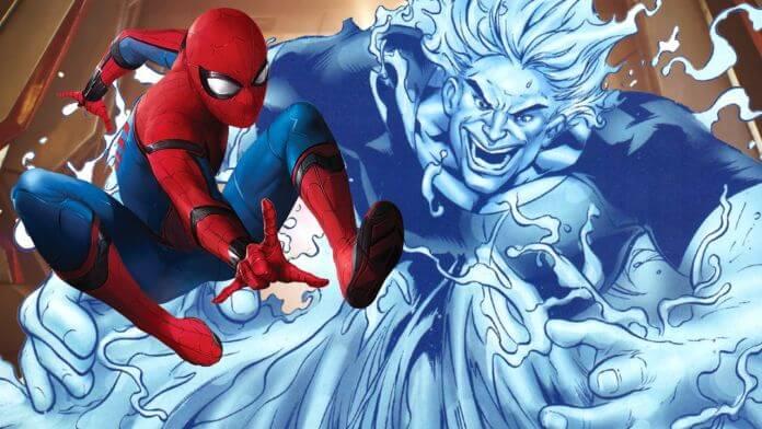 《蜘蛛人:離家日》預告片中,出現了反派角色「水人」。