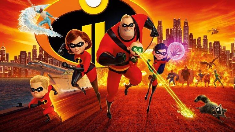 距離首集已有 14 年時光,皮克斯製作的動畫電影《超人特攻隊 2》(Incredibles 2)。