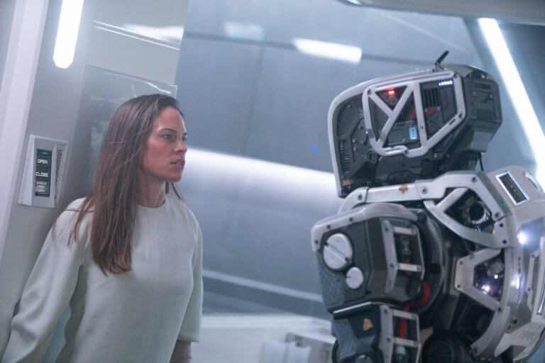 《AI終結戰》(I Am Mother) 劇照。