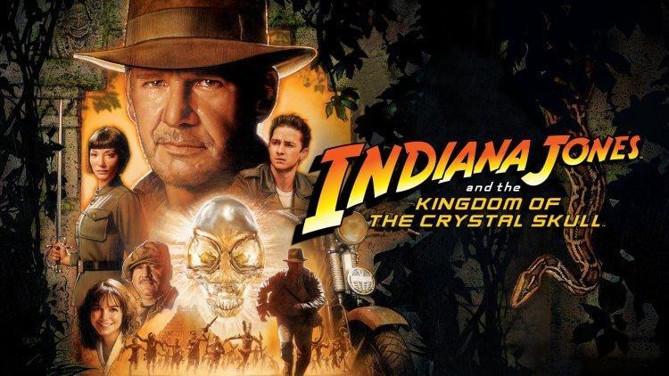 2008 電影《印第安納瓊斯:水晶骷髏王國》。