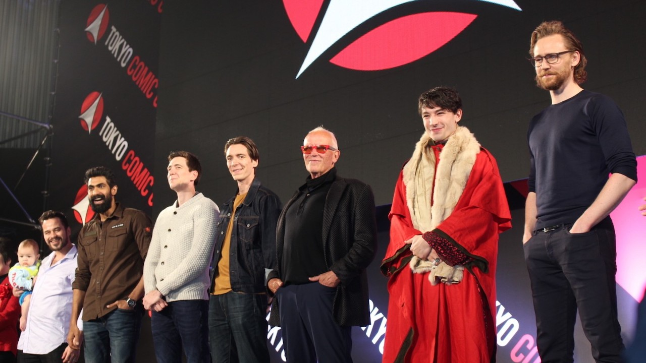 「洛基」抖森、「閃電俠」伊薩米勒等眾星降臨東京 Comic Con!快準備好出來看男神首圖