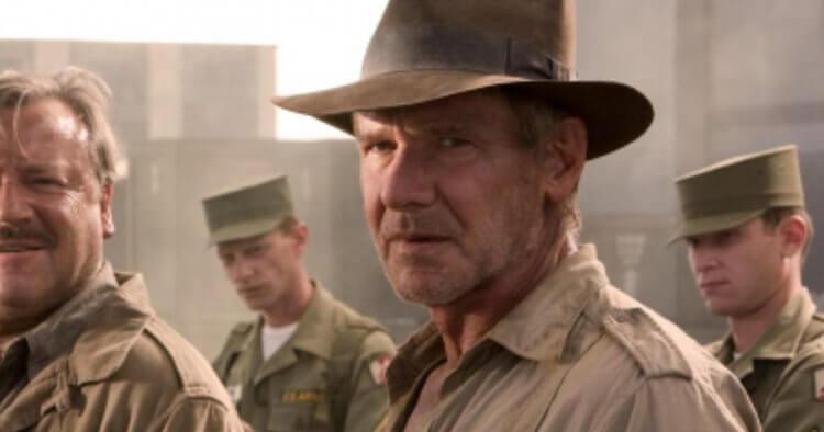 《印第安納瓊斯》(Indiana Jones) 劇照。