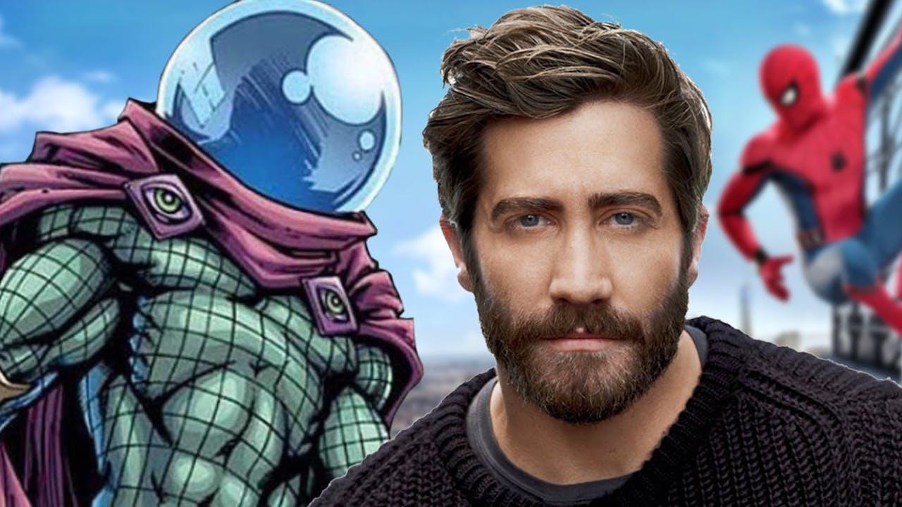《蜘蛛人:離家日》發佈最新人物立繪美術圖,卻意外曝光傑克葛倫霍「神秘客」造型!首圖