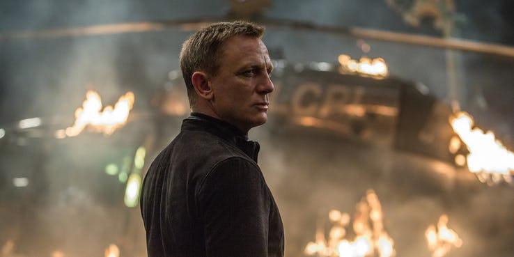 丹尼爾克雷格 (Daniel Craig) 《007》系列的詹姆士龐德 (James Bond)