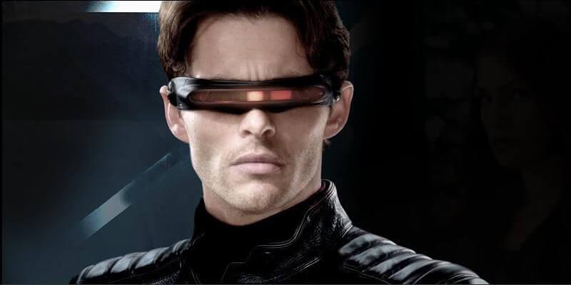 詹姆斯馬斯登演出電影《X 戰警》中的獨目龍一角。