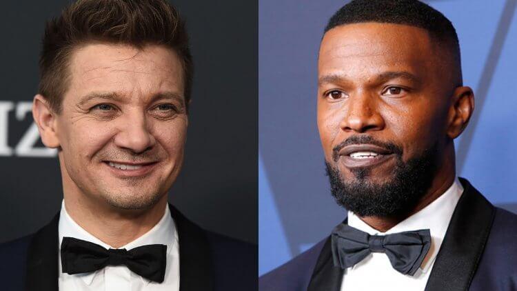 傑瑞米雷納(左)、傑米福克斯(右)將主演《閃靈悍將》的傳言已經流傳好一段時間。