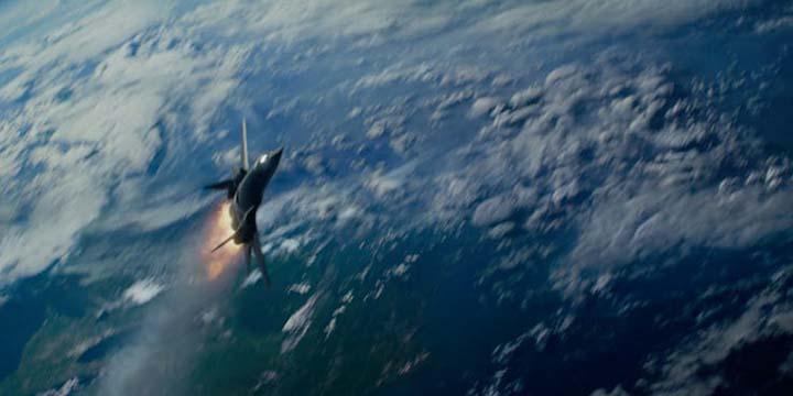 即將飛往大氣層進行任務的 X 戰警們。
