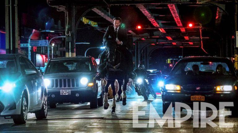 《捍衛任務 3》劇照曝光  逃亡中的基哥駕馬奔馳紐約街頭