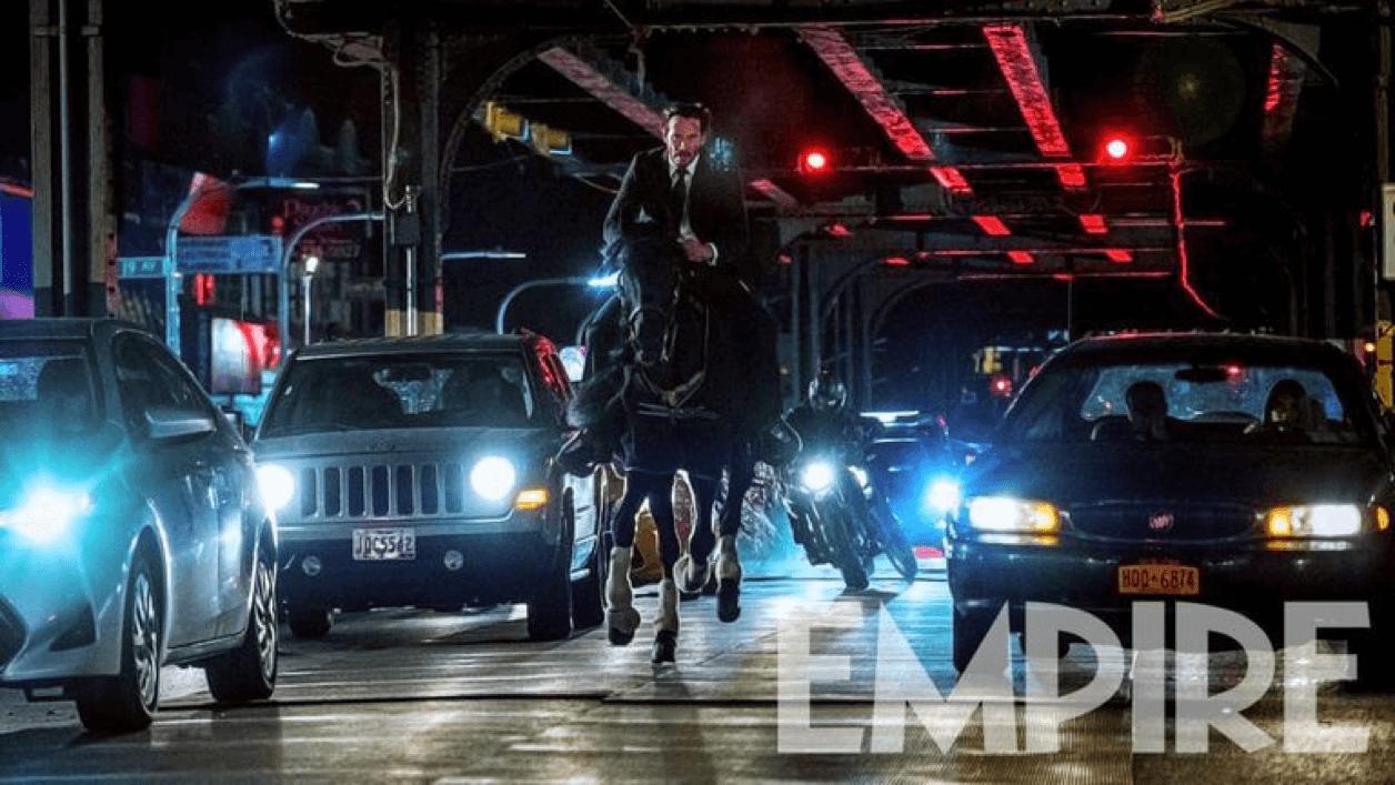 《捍衛任務 3》劇照曝光  逃亡中的基哥駕馬奔馳紐約街頭首圖