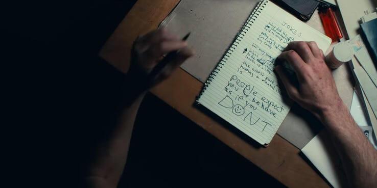 瓦昆菲尼克斯版《小丑》(Joker) 預告劇照。