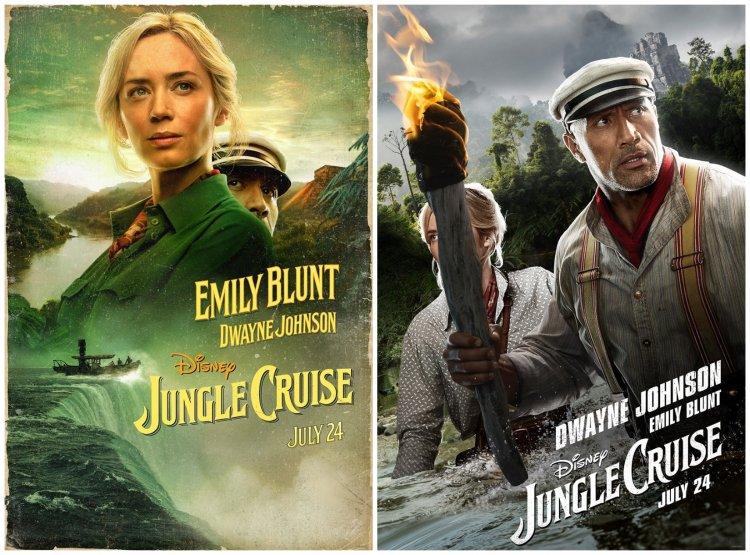 《叢林奇航》人物版海報:巨石強森、艾蜜莉布朗。