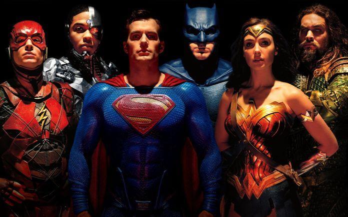 《正義聯盟》(Justice League) 裡集結DC 擴充宇宙的超級英雄們。