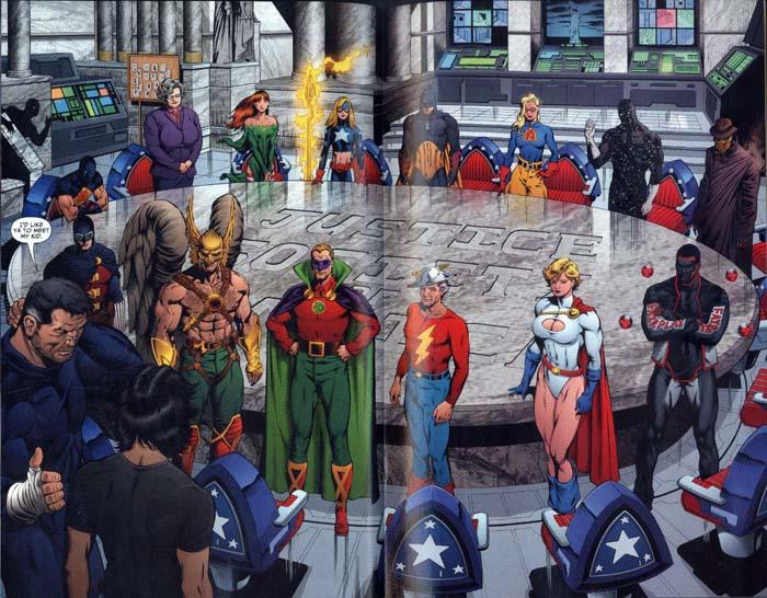 「美國正義協會」(Justice Society of America) 將於《黑亞當》電影登場