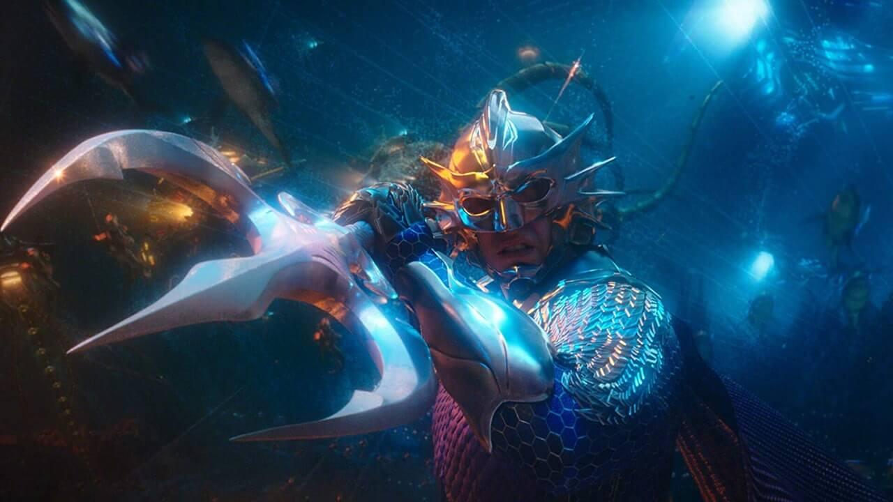 派翠克威爾森 (Patrick Wilson) 在《水行俠》(Aquaman) 裡飾演「水行俠」亞瑟庫瑞 (Arthur Curry) 同母異父的弟弟「海洋領主」歐姆 (Orm)