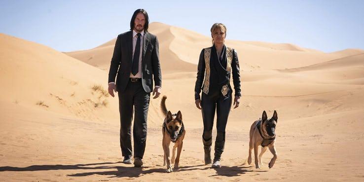 《捍衛任務 3:全面開戰》(John Wick: Chapter 3 - Parabellum) 找來荷莉貝瑞 (Halle Berry) 演出。